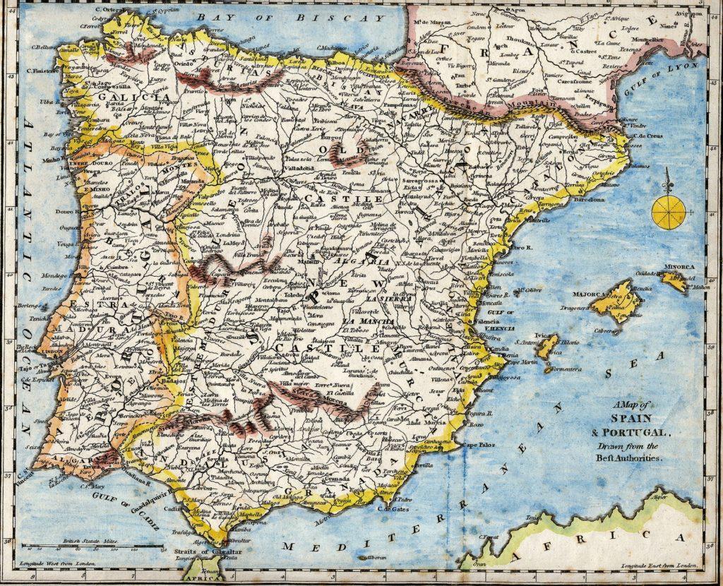 Nieruchomođci w Hisypanii